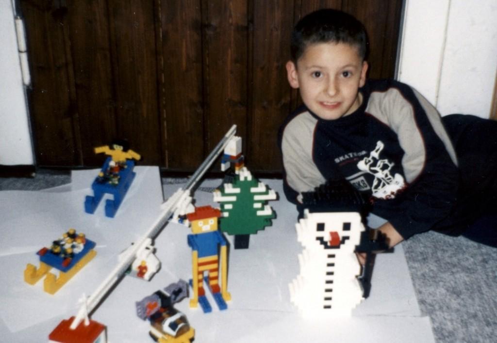 Foto für Winter-Wettbewerb beim Lego Club