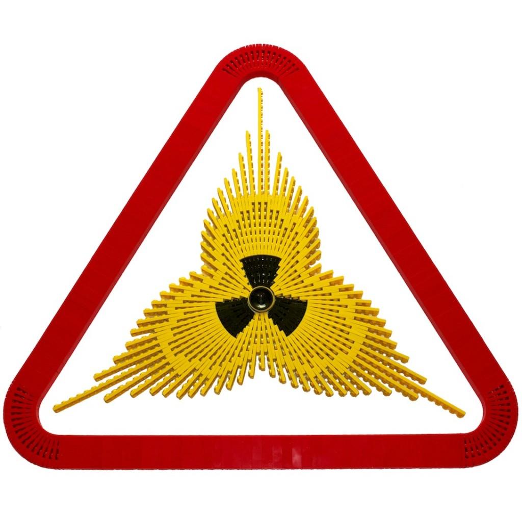Schild gegen Radioaktivität